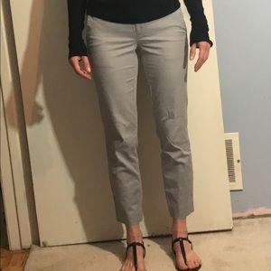 Club Monaco gray ankle pants, size 0
